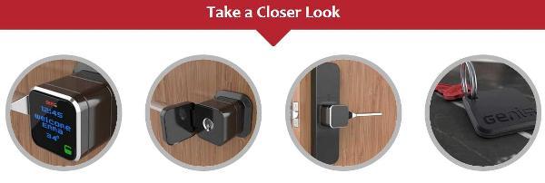 闷骚也有智能,Genie智能门锁类似普通门锁却可以提供更加智能的安全保障