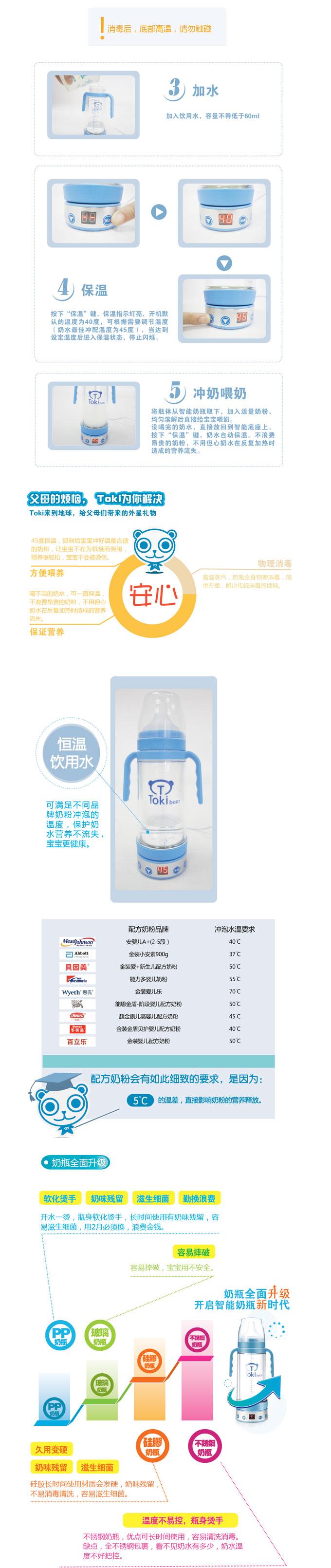 Tokibear 淘气熊智能奶瓶