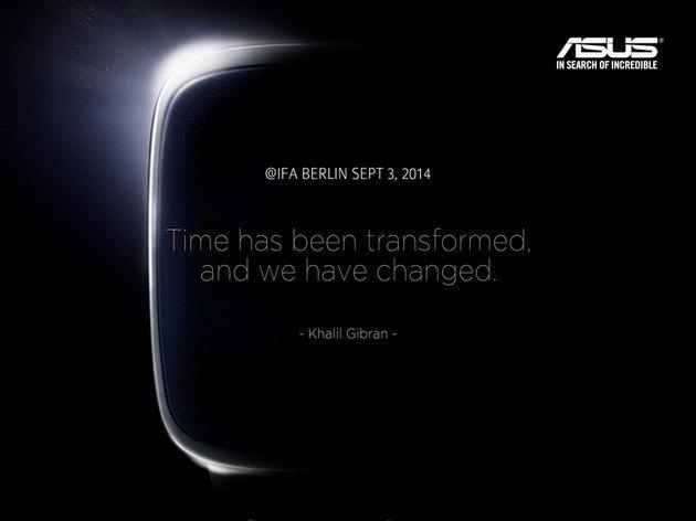 新品密集发布的秋季,华硕将要推出的一款智能手表会成为一枝独秀吗?