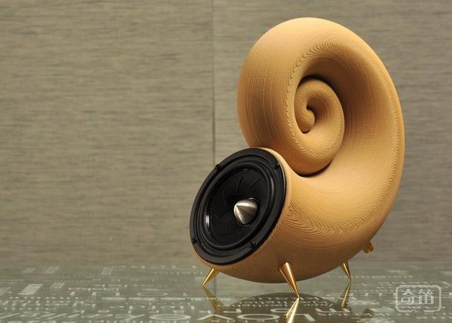 Spirula木质3D音箱打印完组装需2小时