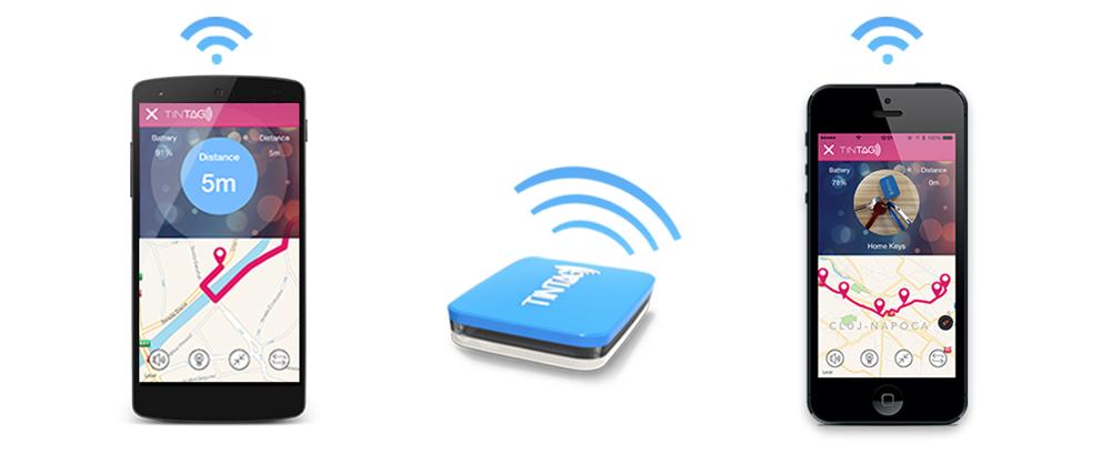 TinTag蓝牙标签可以无线充电6小时用4个月