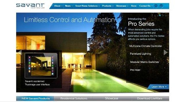 智能家居初创公司 Savant获9000万美元融资,主打豪宅智能