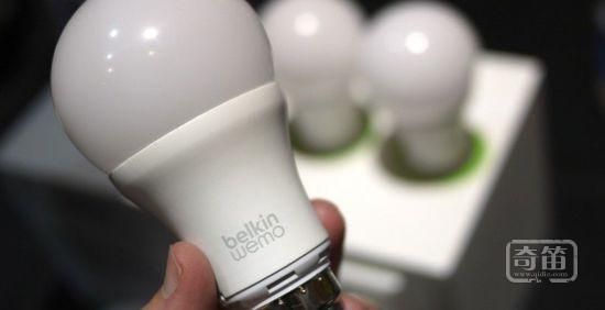Belkin的WeMo智能LED灯泡美国及加拿大开售
