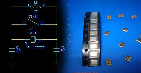 MCU晶体旁边电容的作用及振荡电路的分析