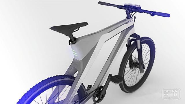 这款智能自行车还将自带发电功能,还能为智能手机等外接设备充电