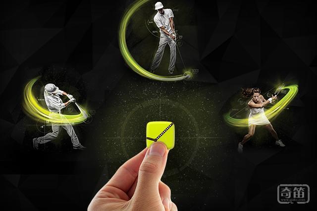 Zepp传感器装在网球拍上能帮忙提升球技
