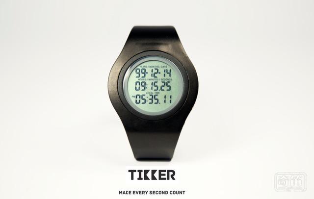 Tikker智能手表号称能预测人死亡时间