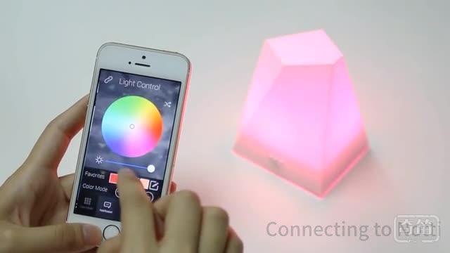 Notti智能灯能用不同颜色的光叫你起床