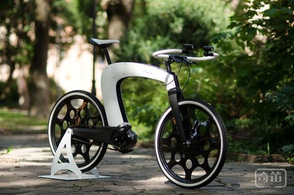 nCycle概念折叠电动自行车玩的就是心跳