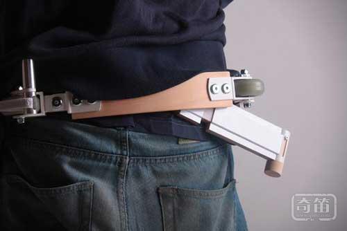 Belt Scooter概念可穿戴电摩托车动车