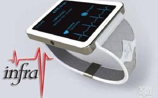 一次搞定穿戴健康,Infrav智能手表可持续监测血压血糖和心跳