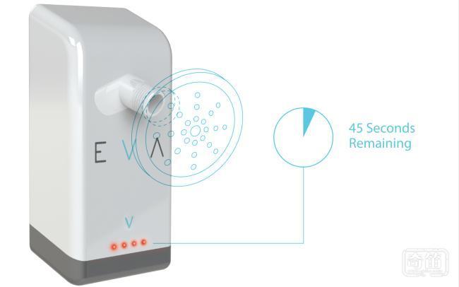 Eva 智能喷头洗澡时自动帮你调整出水量