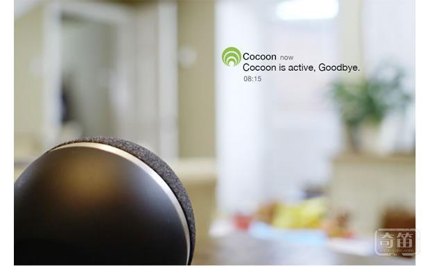 Cocoon摄像头能识别房间任何异动