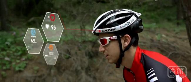 LifeBEAM智能自行车头盔