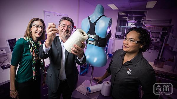 Bionic Bra智能胸罩能自适应调整,避免女性运动中的尴尬