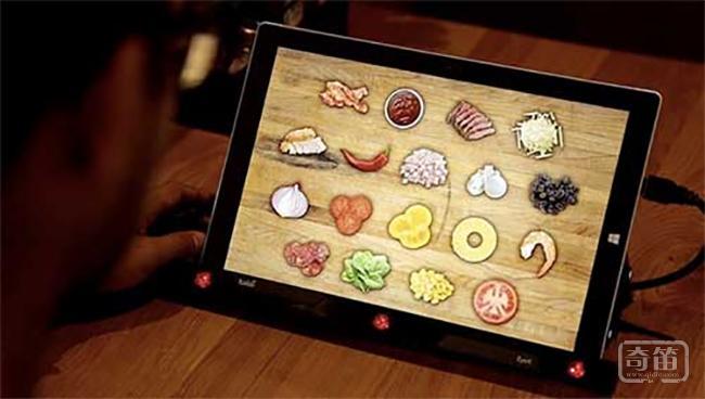 必胜客电子菜单通过监测顾客的眼部的活动为顾客选出最合适的披萨