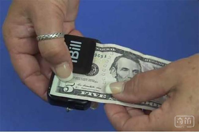 iBill纸币阅读器可语音告诉盲人钞票面额