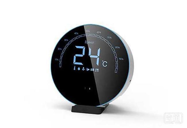 Bpeer环境卫士实时检测家中PM2.5