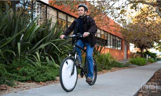 Omni Wheel自行车智能车轮爬坡更容易