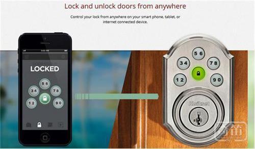 Kwikset智能锁没有钥匙也能远程开家门