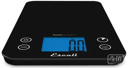 Escali体重秤+厨房秤组合让你更好瘦身