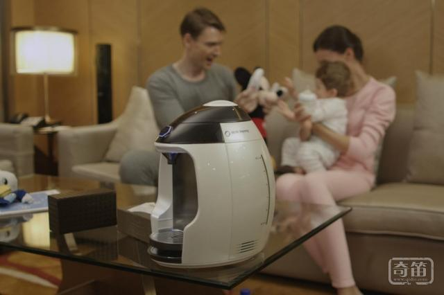 Milk Nanny智能冲奶机一键泡奶,支持保温