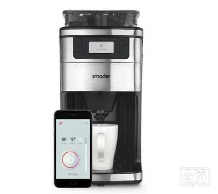 Smarter智能咖啡机:快到家时给你来一杯
