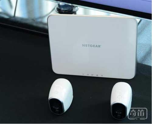 Netgear三防监控摄像头可监测运动物体