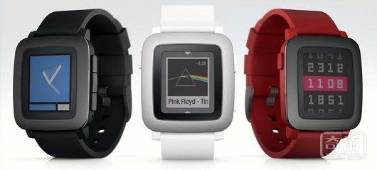 智能手表先驱 Pebble 发布彩屏手表 Pebble Time