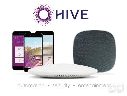 首款配备音响的智能家居Hive,实现家庭自动化、安全和娱乐