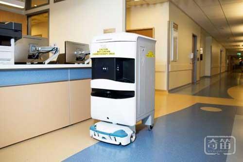 Tuggy McFresh机器人能送药送餐倒垃圾
