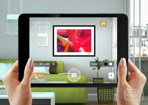 Curioos用增强现实教你装扮家里的墙