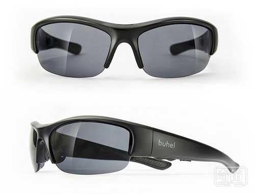 Kickstarter超酷骨传导太阳眼镜可听歌打电话