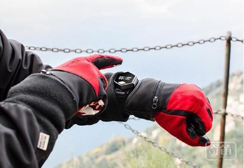 HIRIS可穿戴计算机支持健身追踪和手势控制