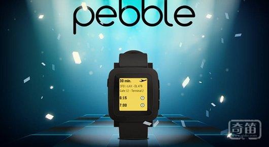 智能手表Pebble Time在Kickstarter成明星,筹款额达2033万美元