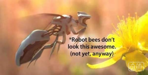 RoboBees机器人蜜蜂可模仿蜜蜂授粉和采蜜