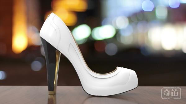 Volvorii电子墨水智能女鞋能够改变鞋面颜色图案