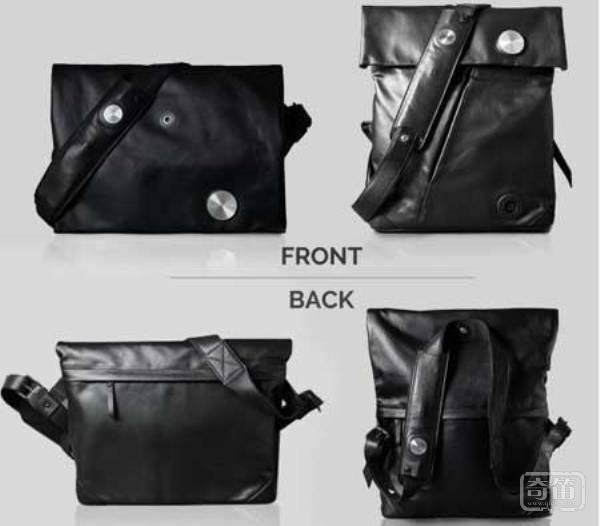 Urban Bag智能背包可免提接听手机电话