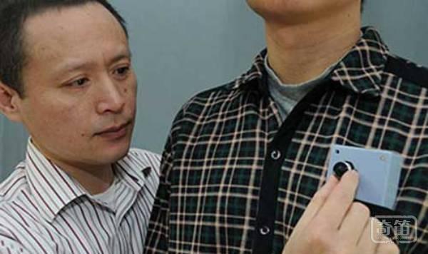 可穿戴相机能避免盲人撞上障碍物
