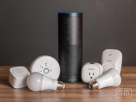亚马逊Echo的新功能,需要和贝尔金的WeMo组件、飞利浦的Hue灯泡配合使用