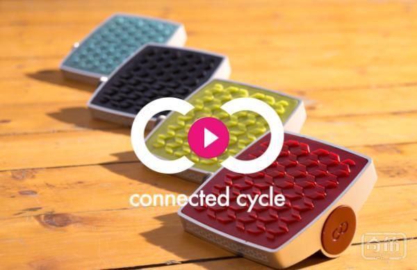 智能自行车脚踏板Connected Cycle Pedals能防盗还能记录您的每一步