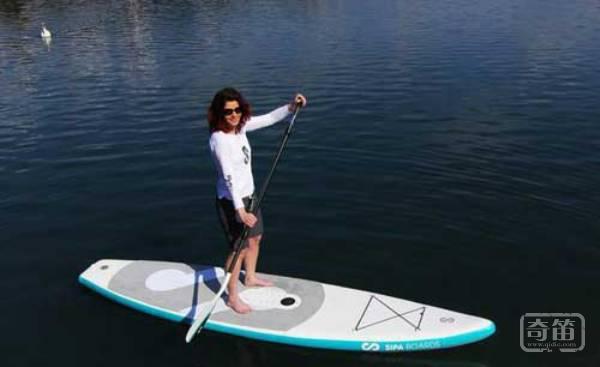 SipaBoards智能冲浪桨板让新手不再紧张