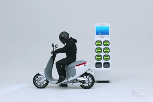 智能摩托车Gogoro Smartscooter 内置了30个传感器