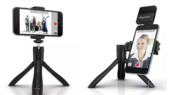 凸显稳定的iKlipGrip智能手机支架支持蓝牙快门控制