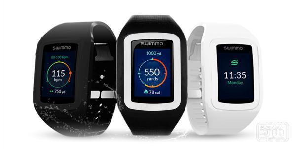 Swimmo智能手表实时监测用户的状态并激励用户奋力前进