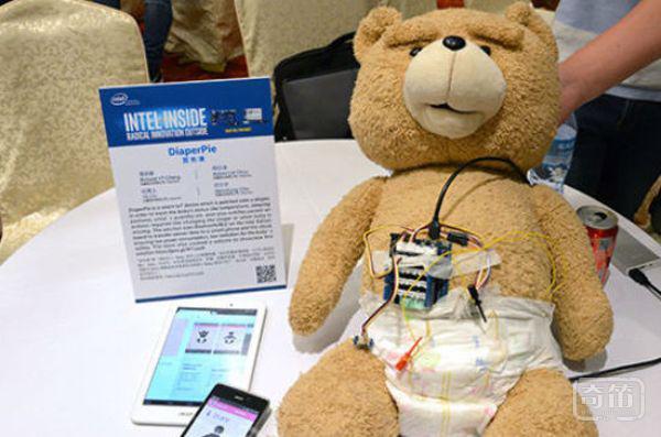 DiaperPie智能纸尿裤能帮助父母监测婴儿举动