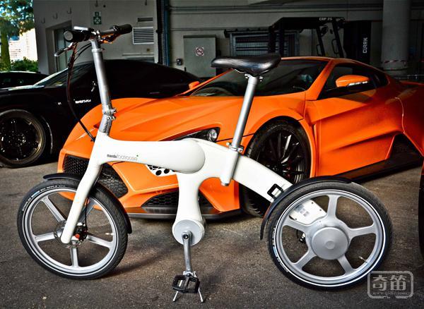 颠覆传统,韩国推出脚踏发电的无链条电动脚踏车『Mando Footloose』!