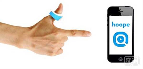 快速诊断性病的小戒指,Hoope戒指