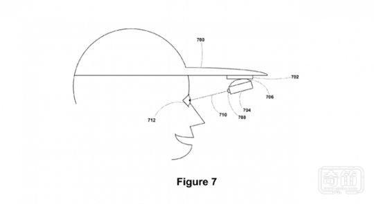 谷歌新专利曝光 谷歌眼镜将与帽子相结合