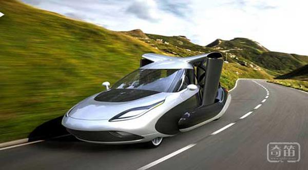 这可能是你见到过的最酷飞行汽车,Terrafugia TF-X的概念飞行汽车